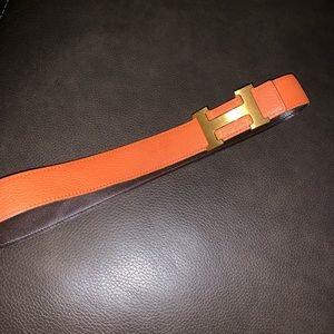 Authentic Hermès belt